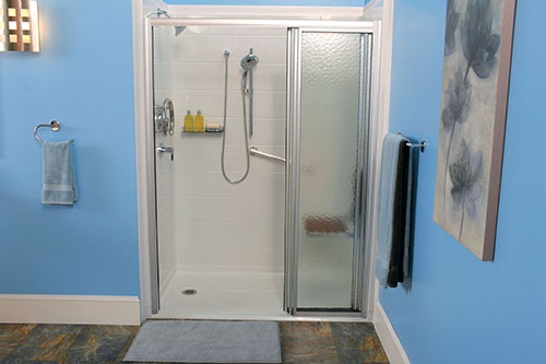 people who can not sit up they can lie down on a shower bed and enjoy their shower most people will use a chair when they can not stand in the shower